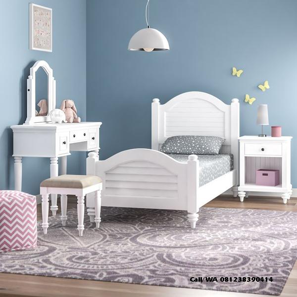 Set Tempat Tidur Anak Perempuan IJ-TTA010