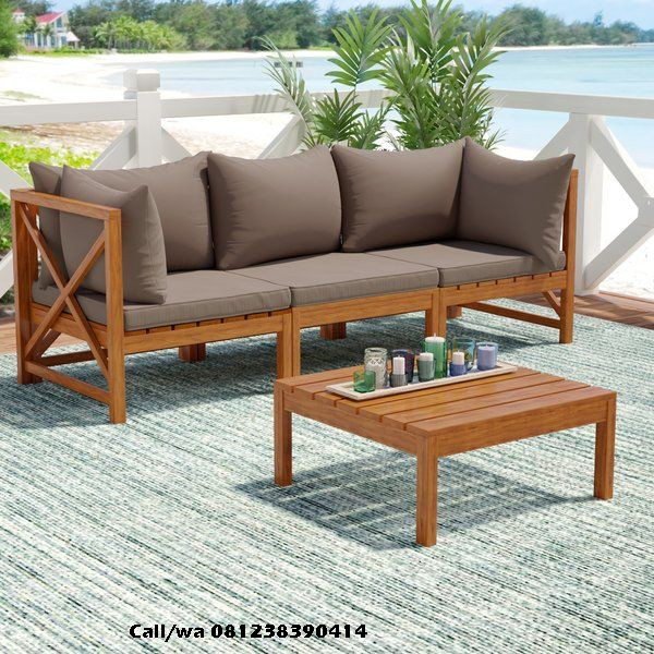 Kursi Tamu Bangku Sofa Minimalis, indo kursi, indo jati, berkah jati, lemari pajangan jepara
